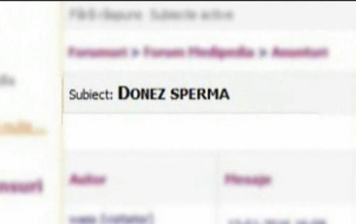 donator sperma 0 Au aparut donatorii de sperma pe bani