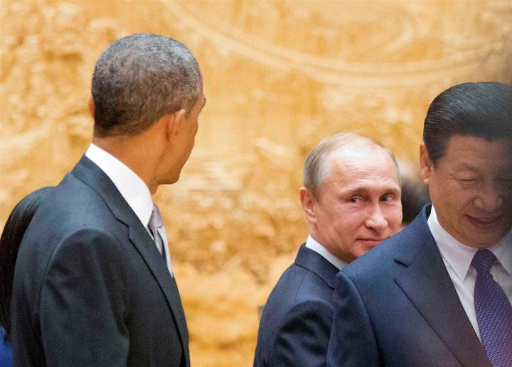 obama si putin Obama, presedinte pana la capat