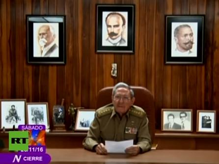 raul A murit Fidel Castro. Anuntul, facut de fratele sau, actualul lider de la Havana (VIDEO)