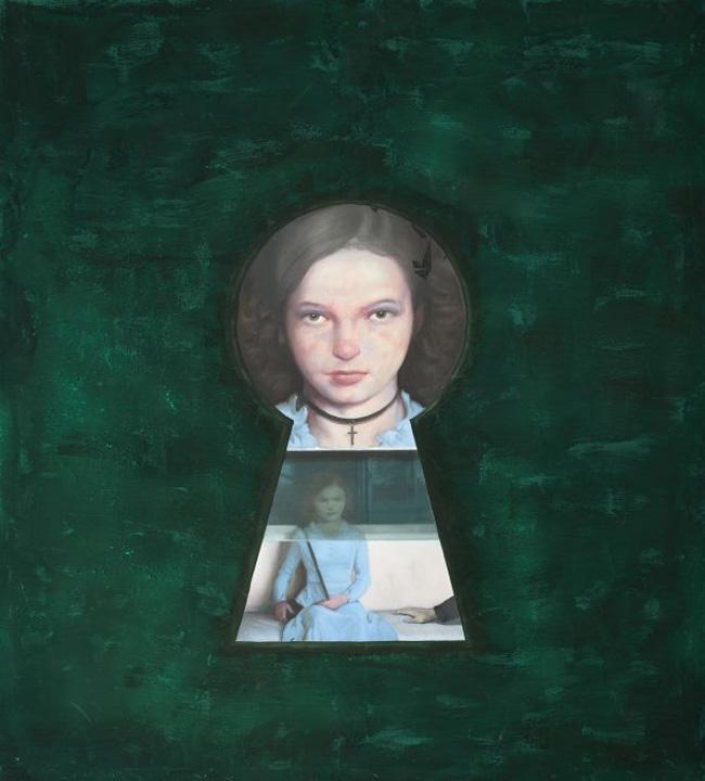 tablou 2 Catrinel Menghia a luat o  pe urmele lui Adrian Ghenie