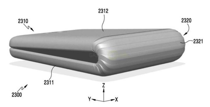 telefon pliant Samsung breveteaza telefonul pliabil