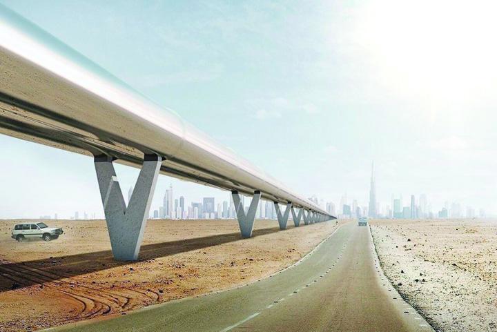 tren Din Dubai la Abu Dhabi in 12 minute, cu trenul