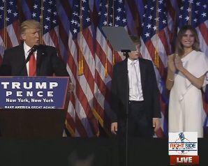 tru Sotii Trump, pentru prima oara la Casa Alba dupa alegeri