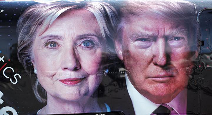 trump hillary Trump: renumararea voturilor, o escrocherie ridicola
