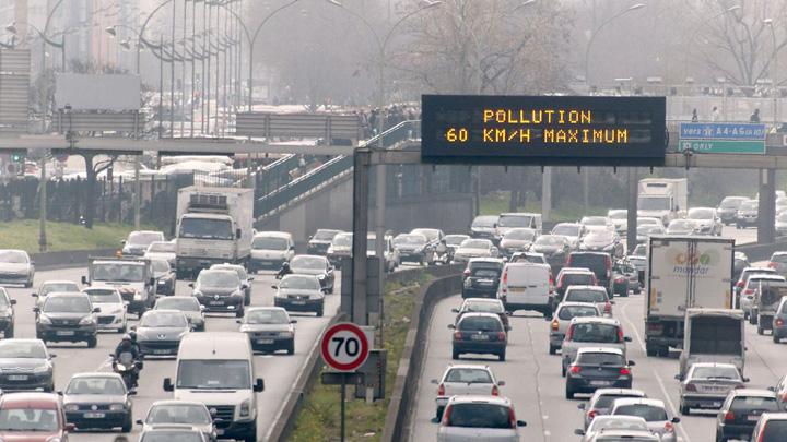 Parigi Inquinamento tangenziale esterna 001 Prostia la putere: masinile diesel, eliminate din marile orase!