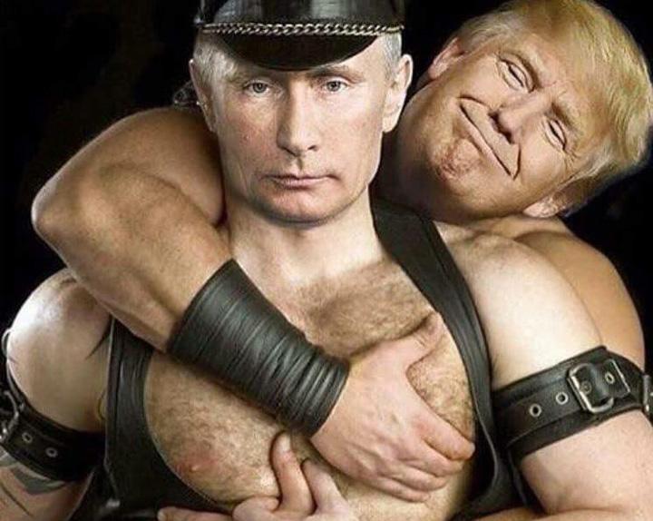 Putin Trump love1 Trump, periat afectuos de Putin