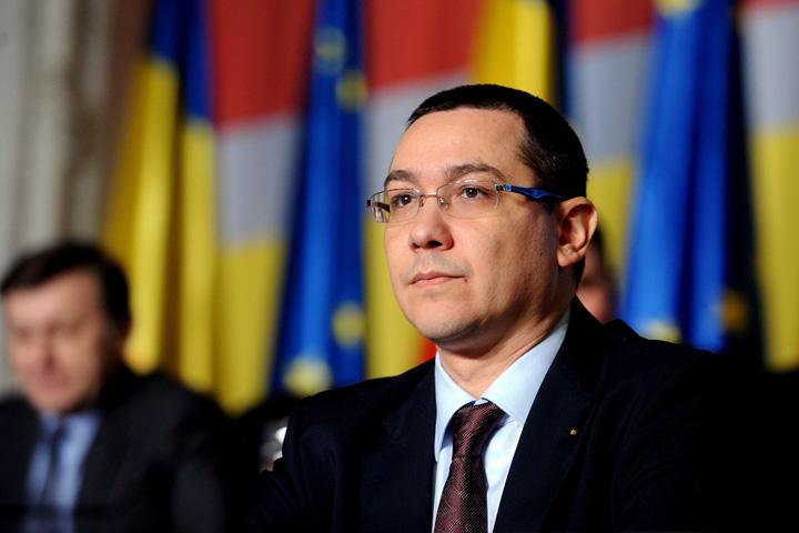 Victor Ponta Ponta, pe faras