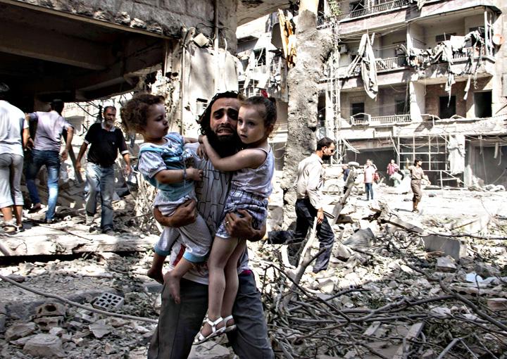 aleppo Stategia barbarilor: Alep, cimitirul Siriei