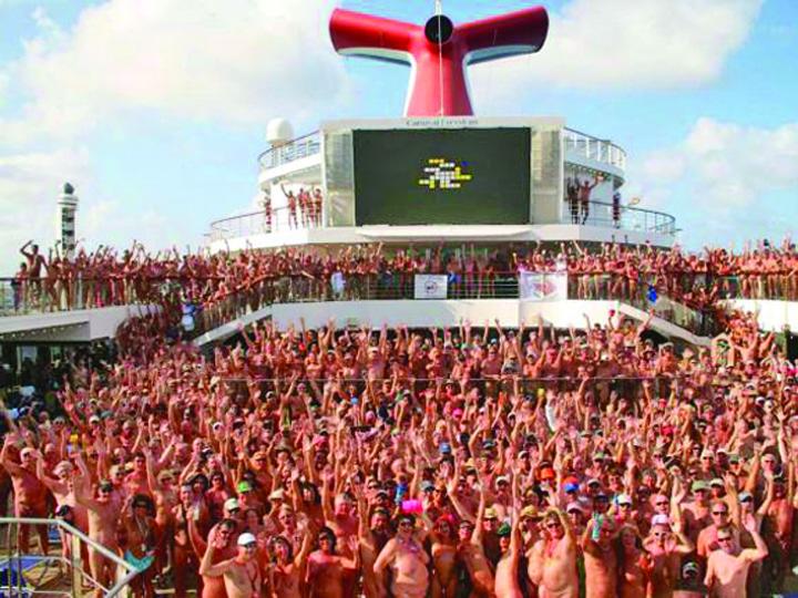 big nude boat Big Nude Boat, croaziera de doua saptamani in fundul gol