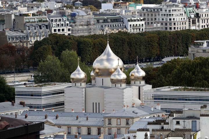catedrala Patriarhul Rusiei a sfintit catedrala lui Putin din Paris