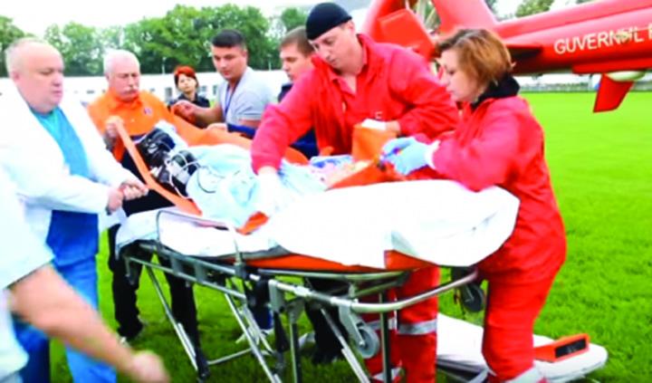 """comun """"Papionul"""" lui Ciolos separa pompierii de asistente!"""