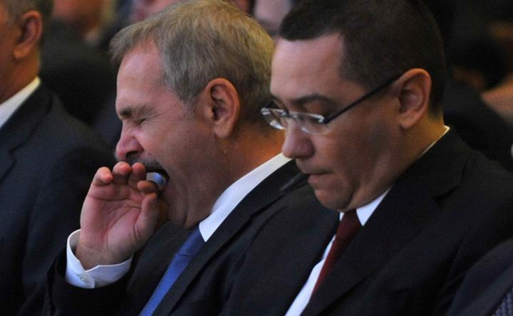 dragnea.y140w6oj7q Dragnea i o trage lui Ponta din Parlament