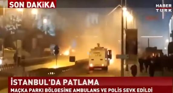 expl stadion Doliu national in Turcia. Dublu atentat in Istanbul, soldat cu zeci de morti (VIDEO)