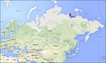 harta 350x209 Accident aviatic, cu o aeronava cu 39 de oameni la bord, in Siberia