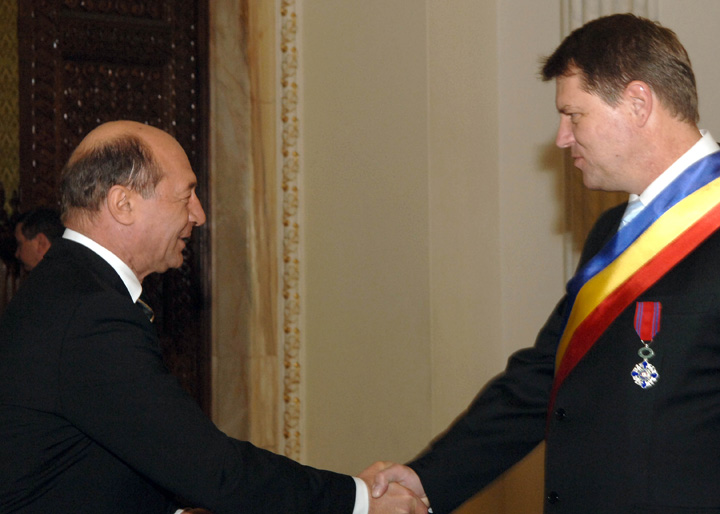 iohannis basescu Dragnea denunta pactul Iohannis   Basescu