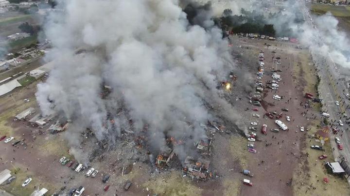 mexic1 Explozie de artificii in Mexic: 31 de morti