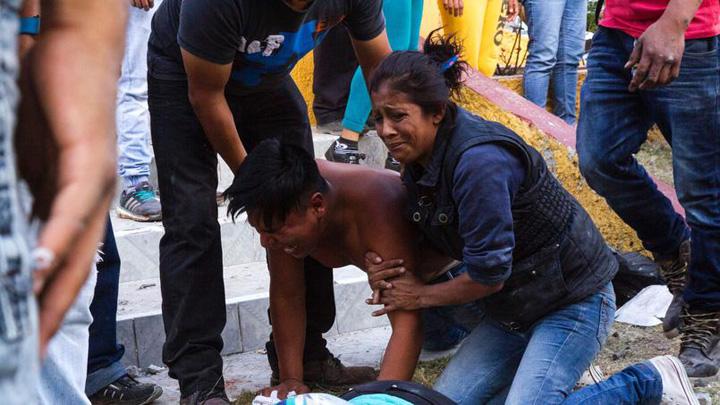 mexic2 Explozie de artificii in Mexic: 31 de morti