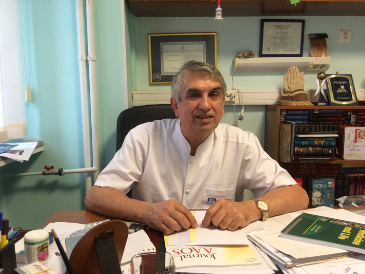 prof.dr .burnei Medicul Gheorghe Burnei, plasat sub control judiciar