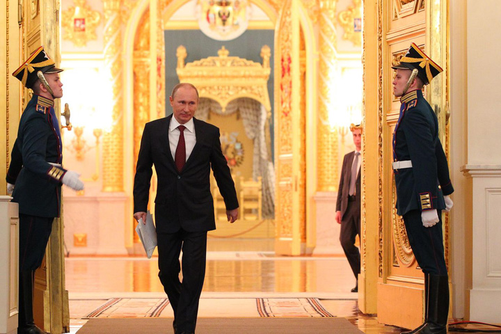 putin in kremlin palace Noua doctrina de cybersecuritate a lui Putin