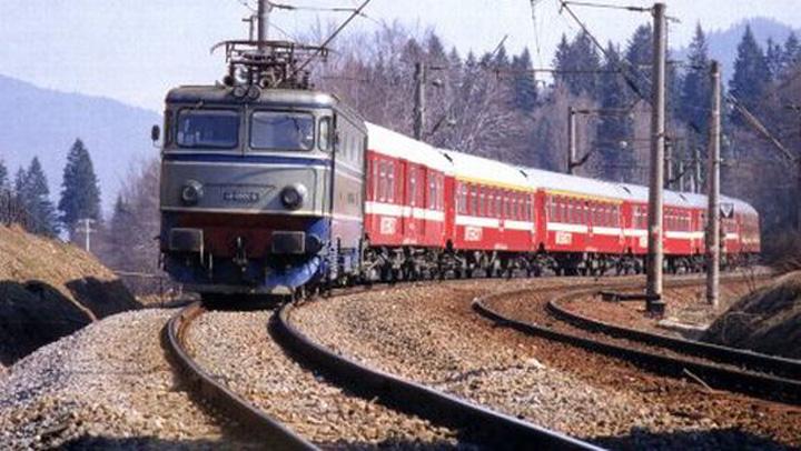 trenuri intarziate Trenurile CFR, depasite de biciclete!