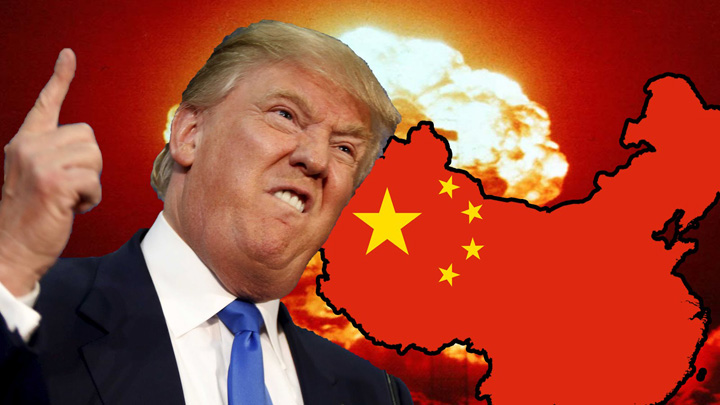 trump china Presa chineza da de pereti cu Trump