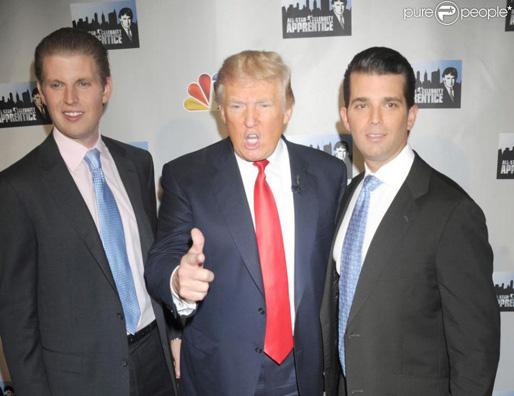 trump si fii Fii lui Trump, acuzati de trafic de influenta