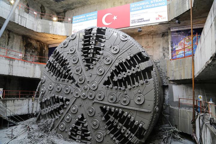 tunel 2 1 S a deschis primul tunel rutier intre Asia si Europa