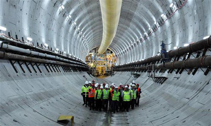 tunel 5 S a deschis primul tunel rutier intre Asia si Europa