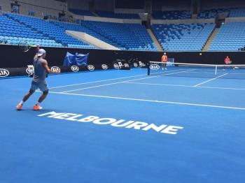 15978018 10154449353216026 5612171721263362082 n rafael 350x262 Nadal reuseste o calificare spectaculoasa in finala de la Melbourne