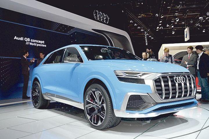 Audi Q8 concept 03 Americanii, fascinati de masinile europene