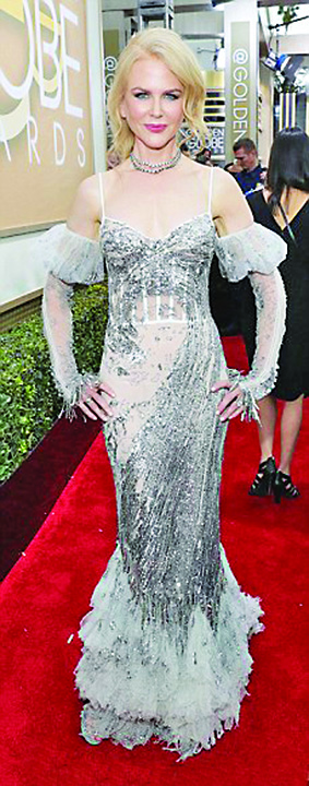 BUNA Nicole Kidman  Meryl Streep a invins Globurile de Aur