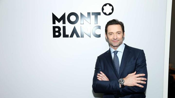 Hugh Jackman Mont Blanc SIHH 2017  Superceasuri si megavedete