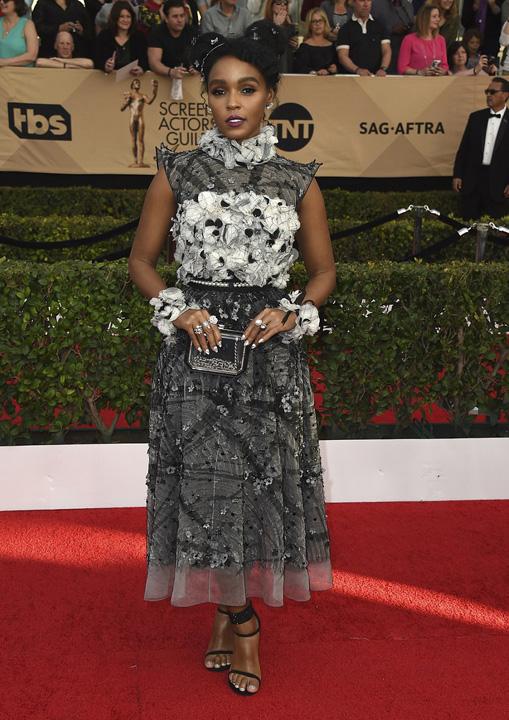 Janelle Monae Dezastru vestimentar la gala premiilor Sindicatului actorilor americani