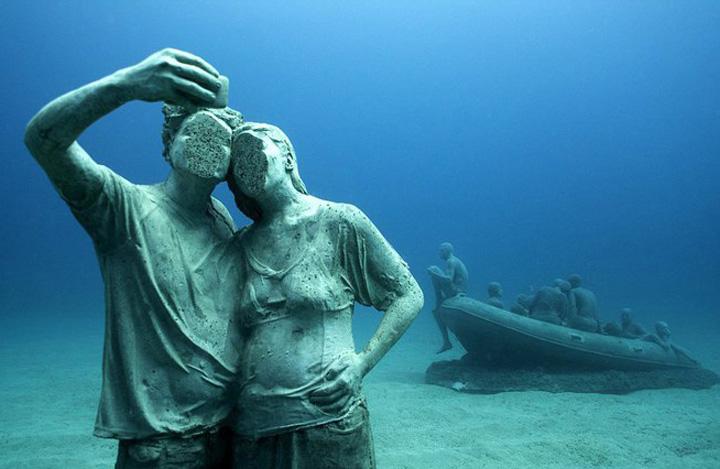 Muzeu S a deschis primul muzeu subacvatic din Europa