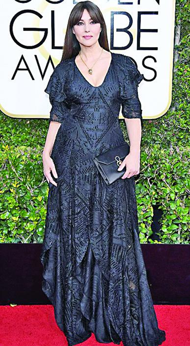 NASPA Monica Bellucci Meryl Streep a invins Globurile de Aur