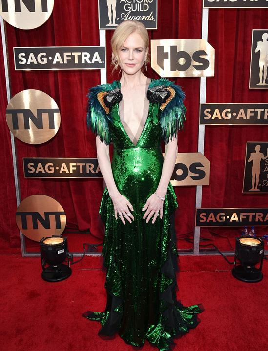 Nicole Kidman Dezastru vestimentar la gala premiilor Sindicatului actorilor americani