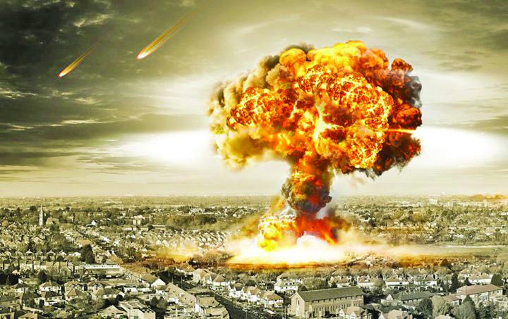 Nuclear Explosion in city Bogatatii planetei se pregatesc de Apocalipsa