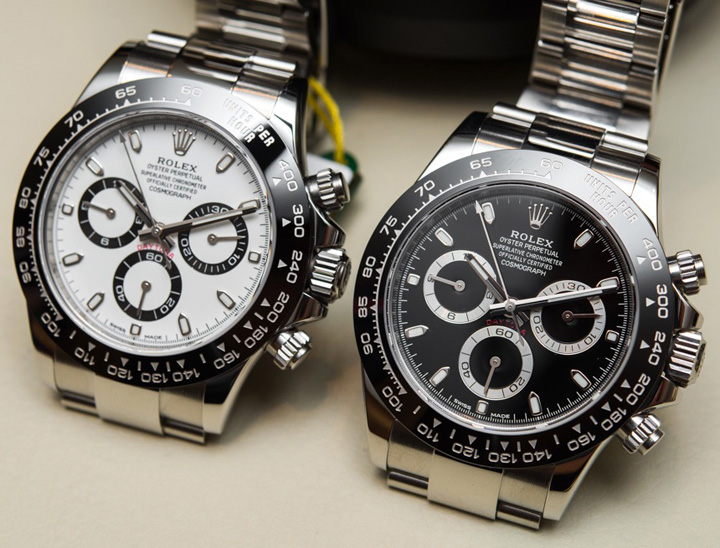 Rolex Daytona Cel mai faimos ceas Rolex, expus la Paris!