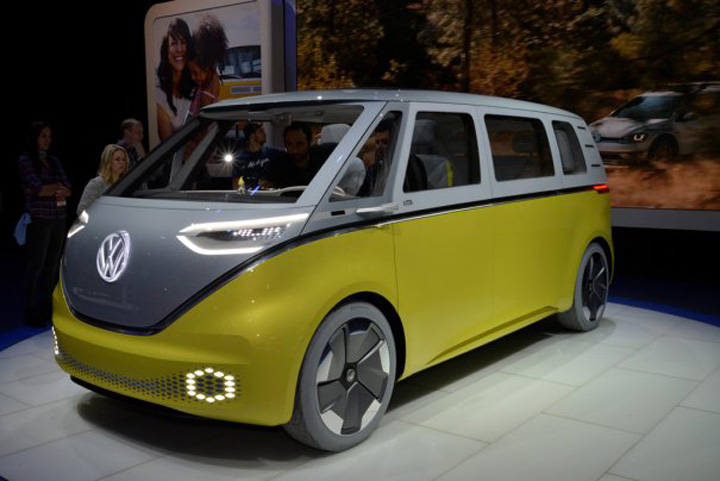 Volkswagen ID Buzz Americanii, fascinati de masinile europene