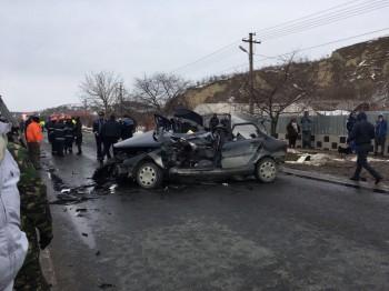 accid 350x262 Accident grav cu un autoturism militar. Comandantul unei baze aeriene, printre raniti