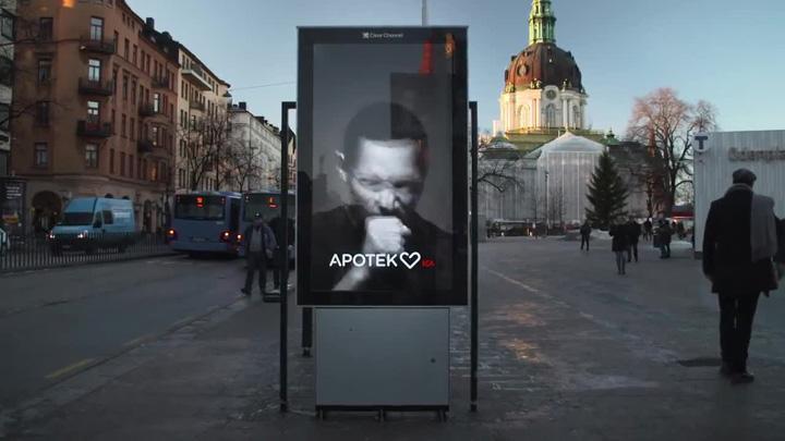 apoteket the coughing billboard 600 50223 Afisul care tuseste cand fumezi langa el!
