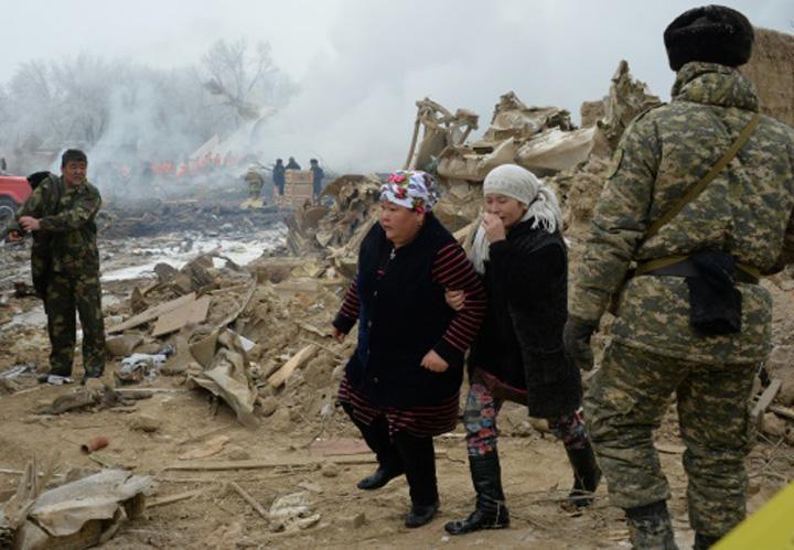 "avion1"" Avion cargo turcesc prabusit in Kirgizstan: 37 de morti"