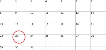 calend 350x165 Ziua de luni, 23 ianuarie, declarata LIBERA de catre guvernanti