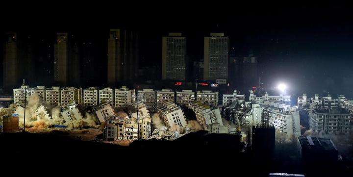 china2 19 blocuri s au prabusit simultan in China