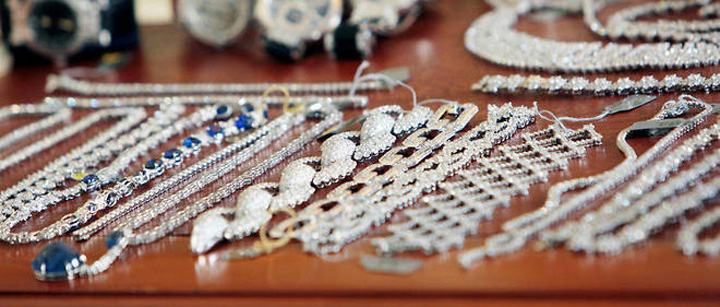 diamante Jaf de Anul Nou la New York: Bijuterii de 6 milioane de dolari