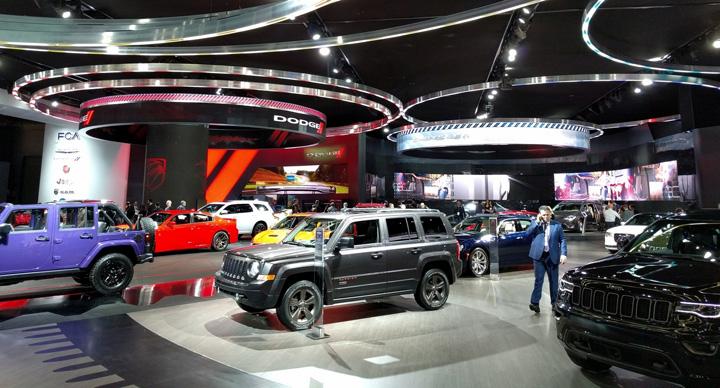 ford AR 160129832 Umbra lui Trump planeaza la Salonul Auto din Detroit