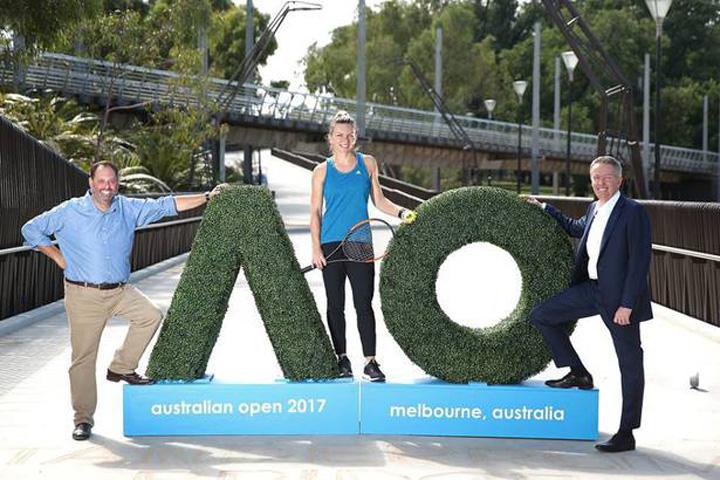 foto 1 Simona Halep, VIP in Australia!