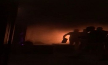 inc 350x211 Primele imagini din interiorul Bamboo, dupa incendiu/ Filmare cu angajatii care luptau sa stinga focul (VIDEO)