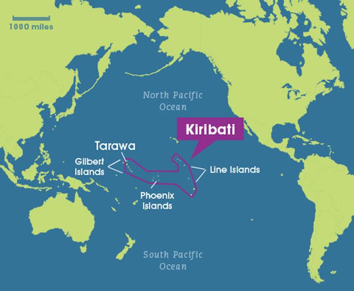 "kiribati  Un afacerist vrea sa ""restaureze monarhia rusa"" in insulele Kiribati"