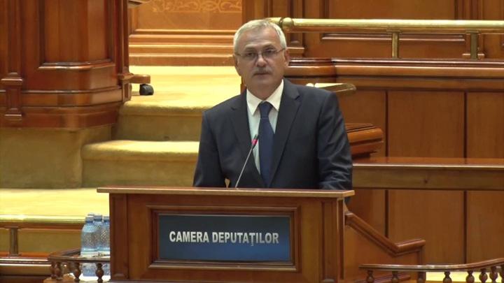 liviu dragnea in parlament Dragnea ii da cu Parlamentul in cap lui Iohannis